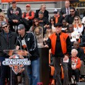 Barry Zito and Ryan Vogelsong at SF Giants Celebration. Photo: Wendy Goodfriend