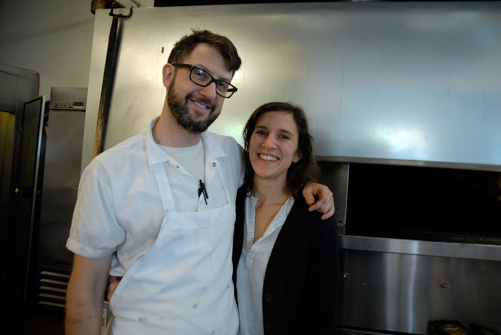Owners of Beauty's Bagels - Blake Joffe and Amy Remsen