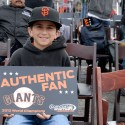 SF Giants fan - young boy. Photo: Wendy Goodfriend