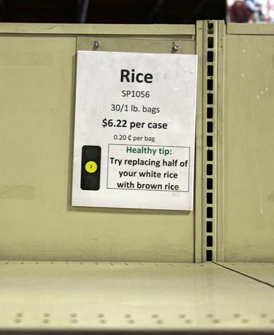 Foodbank - Rice