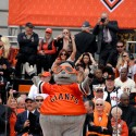 Giants Mascot Luigi Francisco Seal - Lou Seal. Photo: Wendy Goodfriend