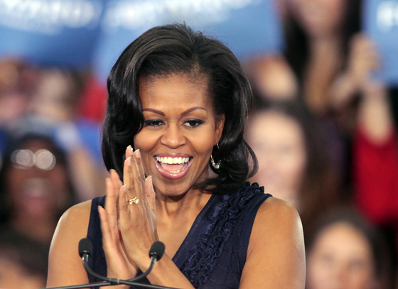 First Lady Michelle Obama. Photo: John Gurzinski/AFP/Getty Images
