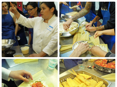 Tamale Class at La Cocina -- Just in Time for Christmas