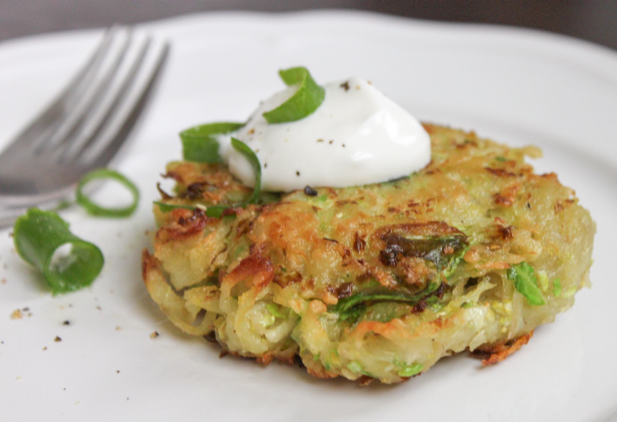Brussels Sprout Latke Recipe Bay Area Bites Kqed Food