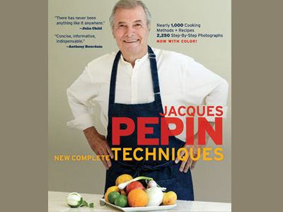 Cooking Up Refinement with Jacques Pépin's New Complete Techniques