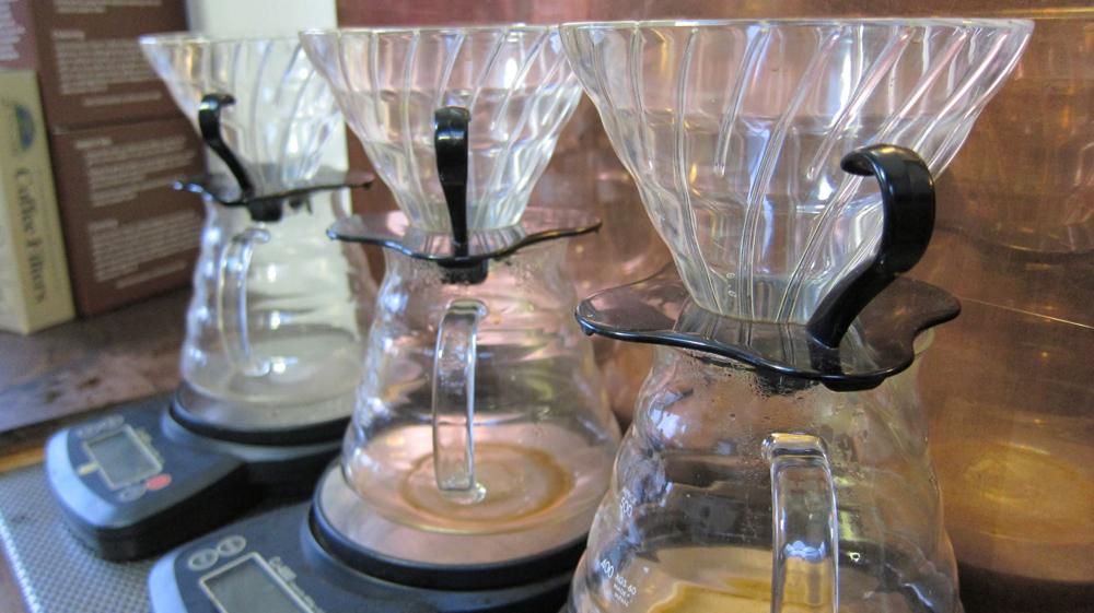hario glass pots