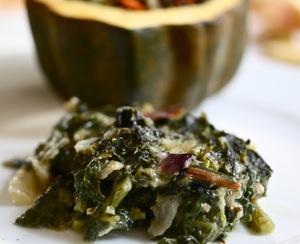 Kale-Chard Gratin