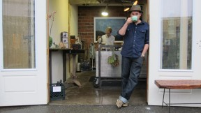 A Cozy Coffee Spot in Oakland's Temescal Alley: The CRO Cafe