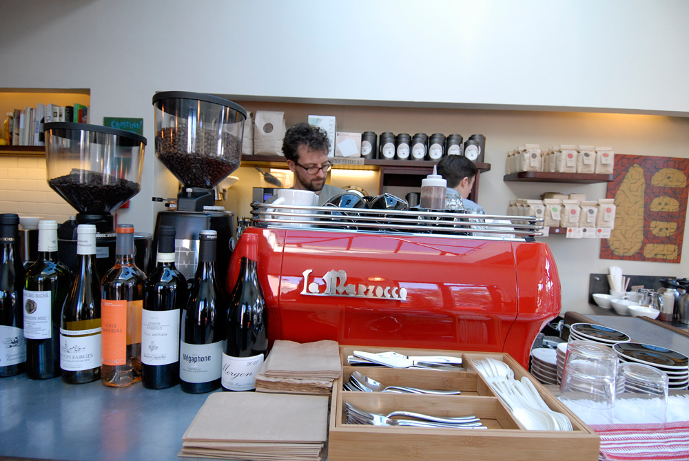 Bartavelle espresso machine. Photo: Wendy Goodfriend