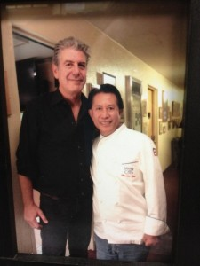 Anthony Bourdain and Martin Yan. Photo courtesy of Martin Yan