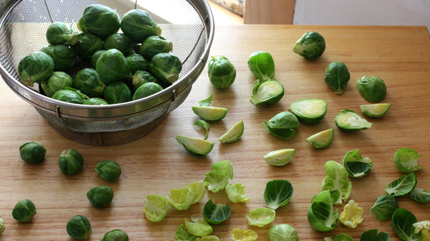 Brussels sprouts. Photo: T. Susan Chang for NPR