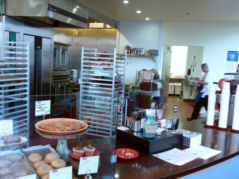 Sweet Bar Bakery counter