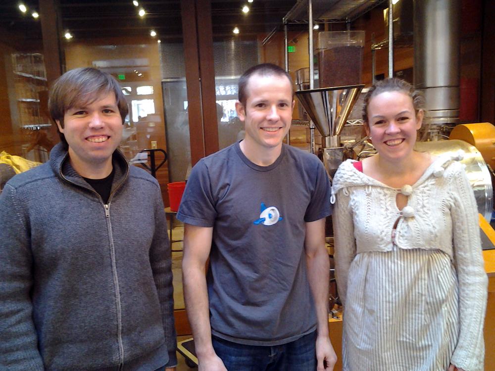 Dandelion team: Todd Masonis, Cameron Ring, Alice Nystrom
