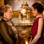 Downton Abbey Season 3 - Maggie Smith as Violet Crawley with Michelle Dockery as Lady Mary Crawley