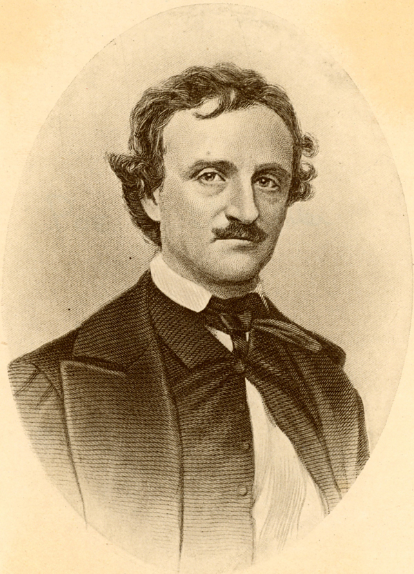 Edgar Allen Poe. Photo: Getty