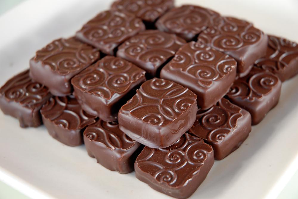 Chocolate Fleur de Sel Caramels