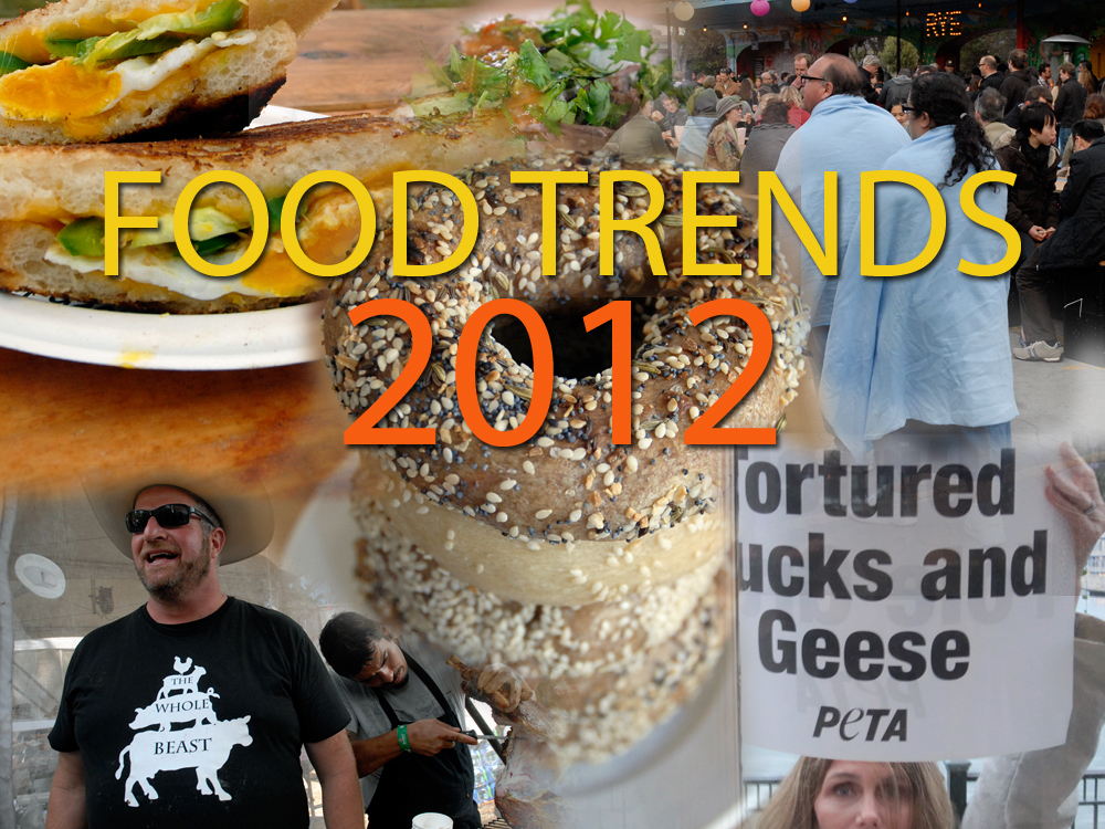 Food Trends 2012. Photo collage by Wendy Goodfriend