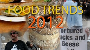 Top Food Stories and Trends of 2012