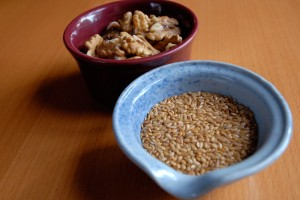 Flax Seeds and Walnuts. Photo: Wendy Goodfriend