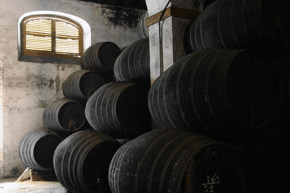 Sherry Wine Cellar. Photo: iStockPhoto