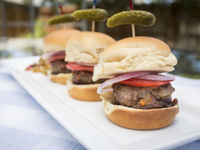 Sliders. We're over them, the National Restaurant Association says. Photo: Bob Ingelhart/iStockphoto.com