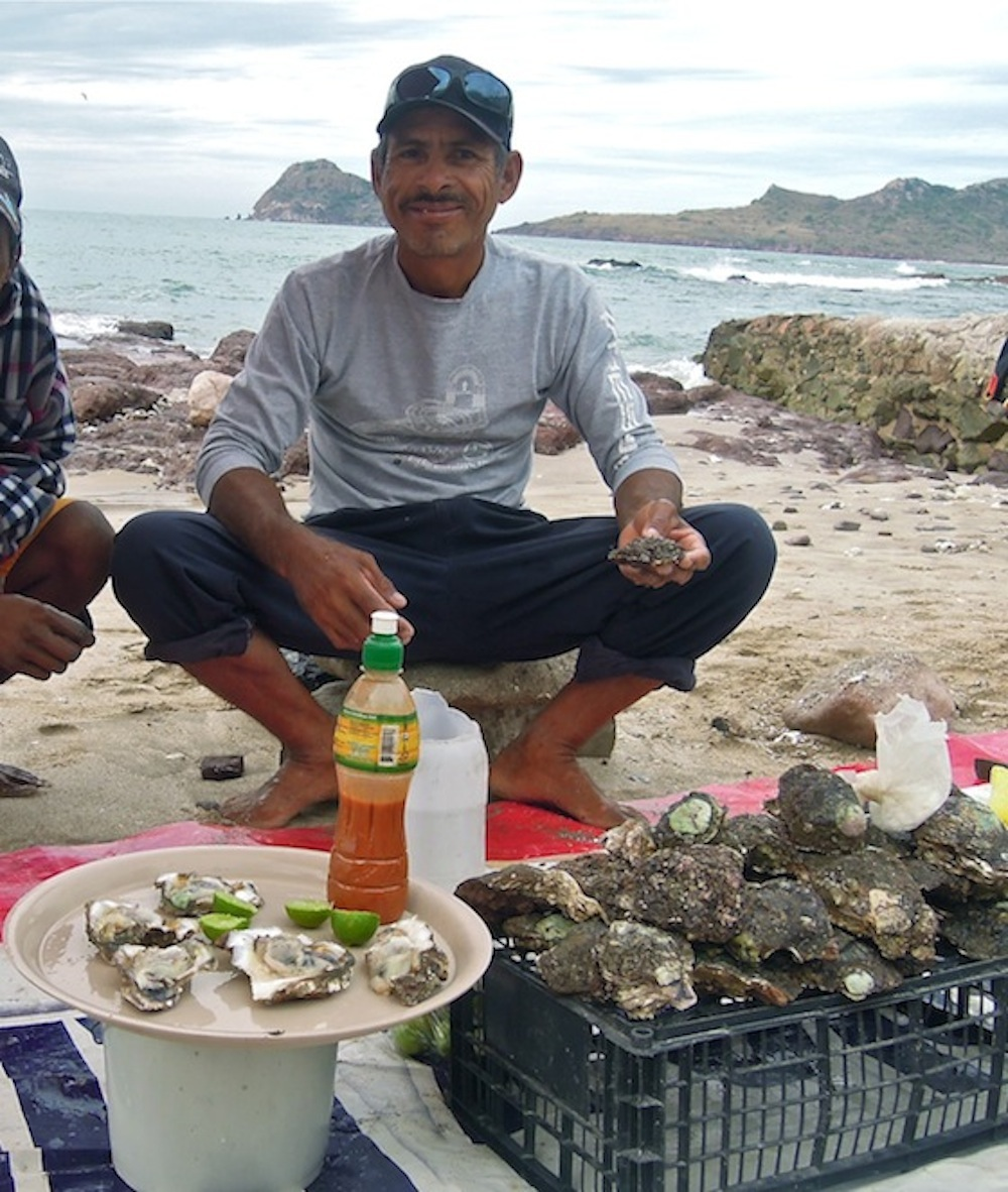 Victor, the oyster man