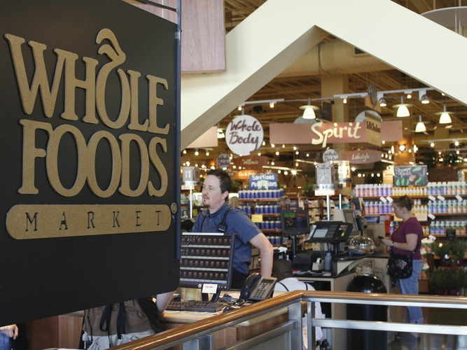Whole Foods has more than 300 stores and continues to expand. Photo: Harry Cabluck/AP