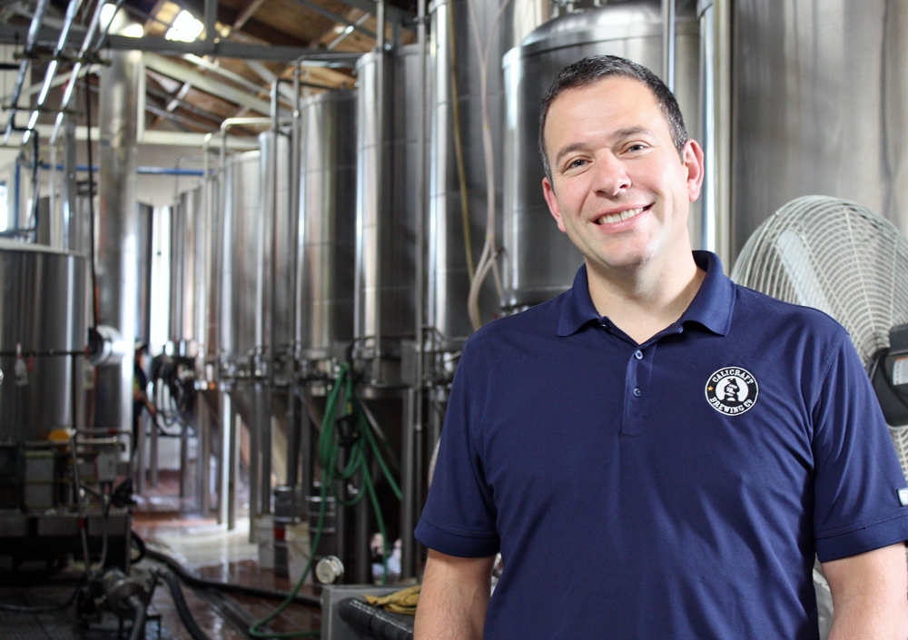 Blaine Landberg launched Calicraft Brewing Co. following a stint as one of Honest Tea's original employees.