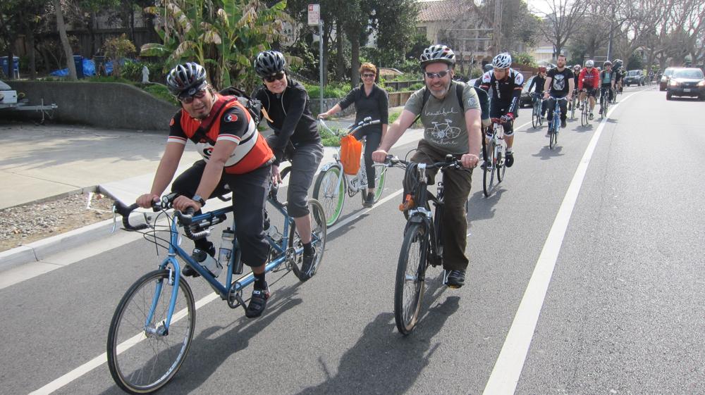 Riding Alameda