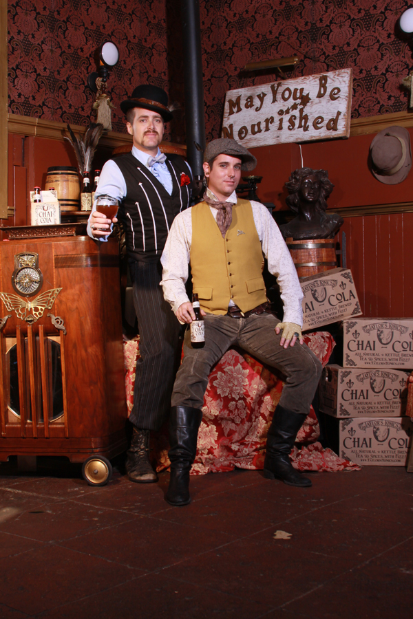 The Fizzary owners Taylor Peck and Aaron Dolson. Photo courtesy of Cassie Destino/The Fizzary