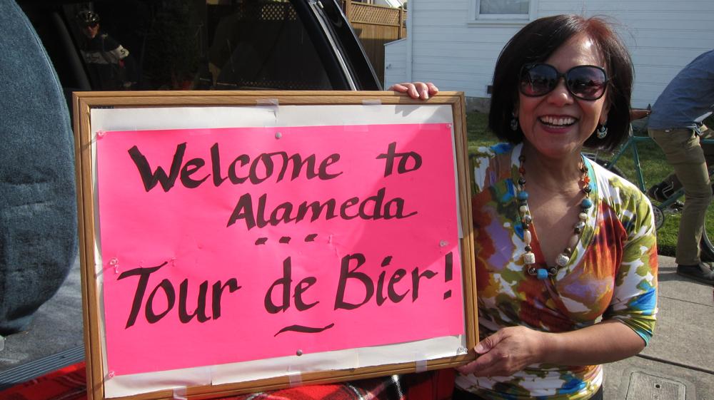 Tour de Bier Sign