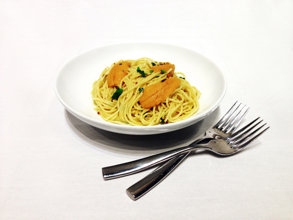 Batson & Kelly Style Uni Pasta. Photo: Leila Seppa