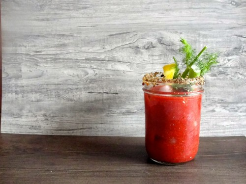 Time for a low-sodium Bloody Mary. We thought you'd never ask. Photo: Jessica Goldman Foung