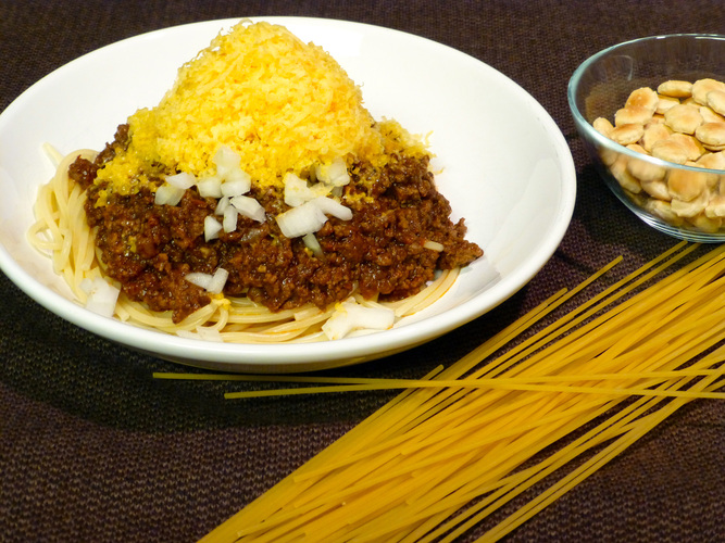 Cincinnati Chili. Photo: Peter Ogburn for NPR