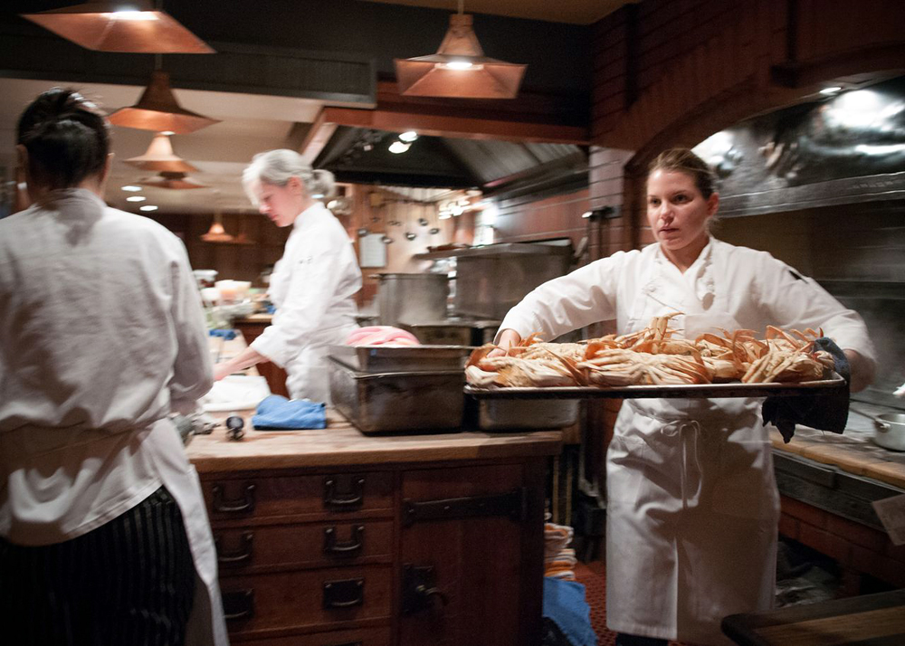 Back in Berkeley, Alvarez finds an abundance of seafood. Photo: Naomi Fiss