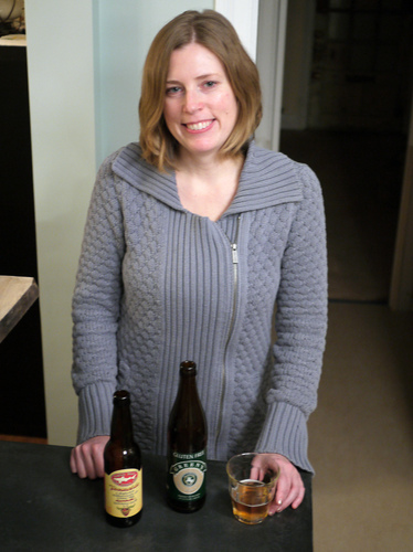 """God bless them,"" Abbey Potter says of craft brewers who are making gluten-free beer. Potter was diagnosed with celiac disease several years ago. Photo: Bill Chappell/NPR"