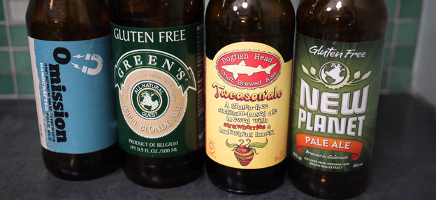 More and more gluten-free beers are entering the marketplace.