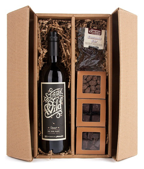 """Love to Give"" from Stark Wine and Sonoma Chocolatier. Photo courtesy of Stark Wine."