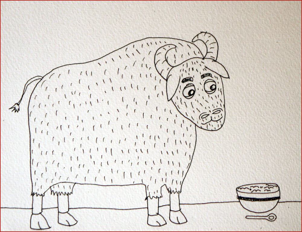 The Ox. Illustration by Lila Volkas