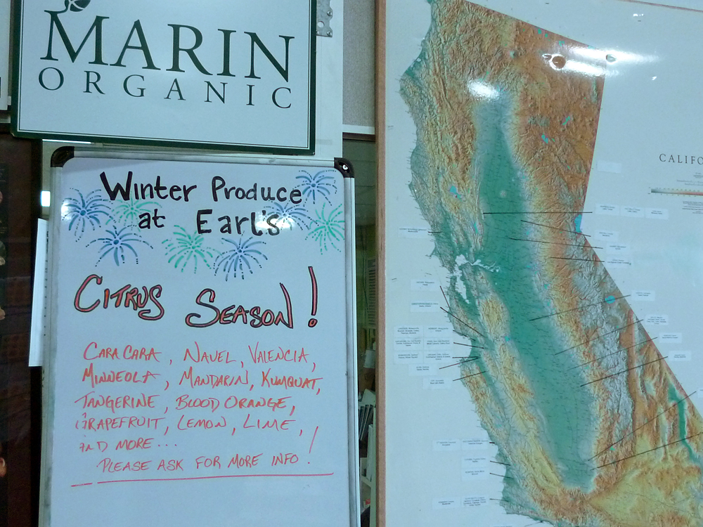 Winter Produce at Earl's - Citrus Season