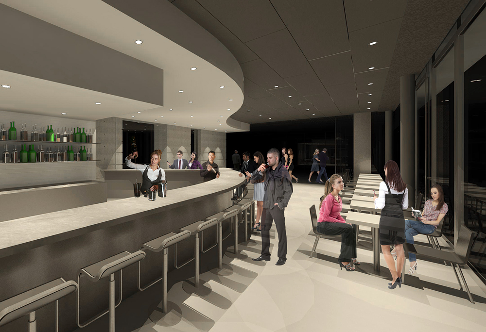 South at SFJAZZ Renderings by Lundberg Design