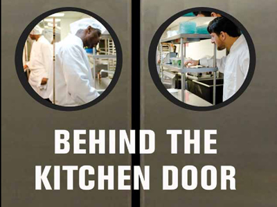 What Goes on Behind the Kitchen Door
