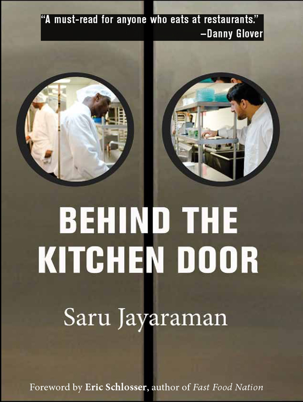 Behind The Kitchen Door. By Saru Jayaraman