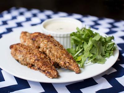 Dukkah Crusted Chicken Tenders