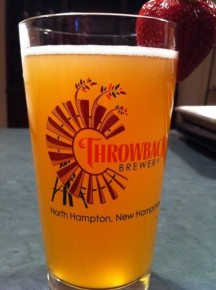 Throwback Brewery in New Hampshire is one of almost 20 New England breweries using malts from Massachusetts' micro-malt house Vally Malt. Photo: Courtesy of Throwback Brewery