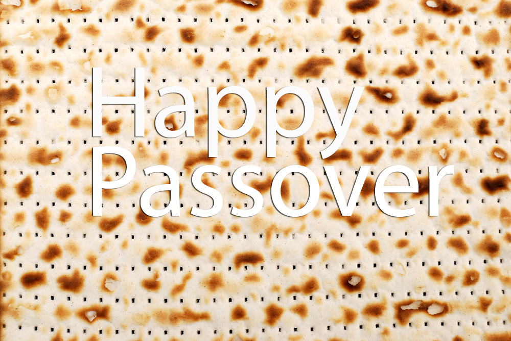 Happy Passover - Matzo