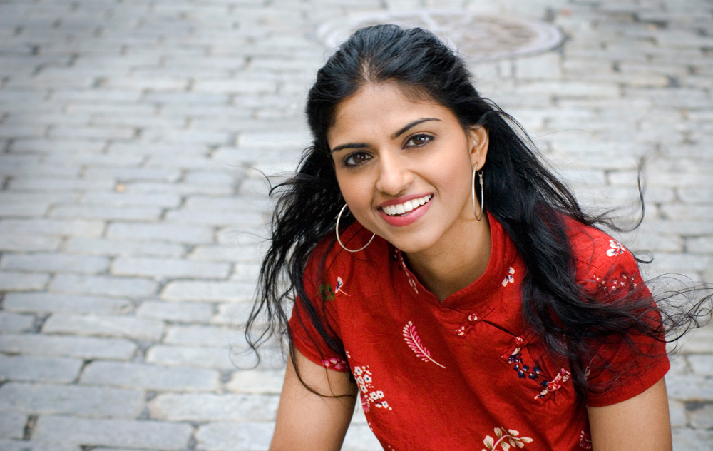 The daughter of Indian immigrants, Saru Jayaraman, represents disadvantaged restaurant workers. Photo: Sekou Luke