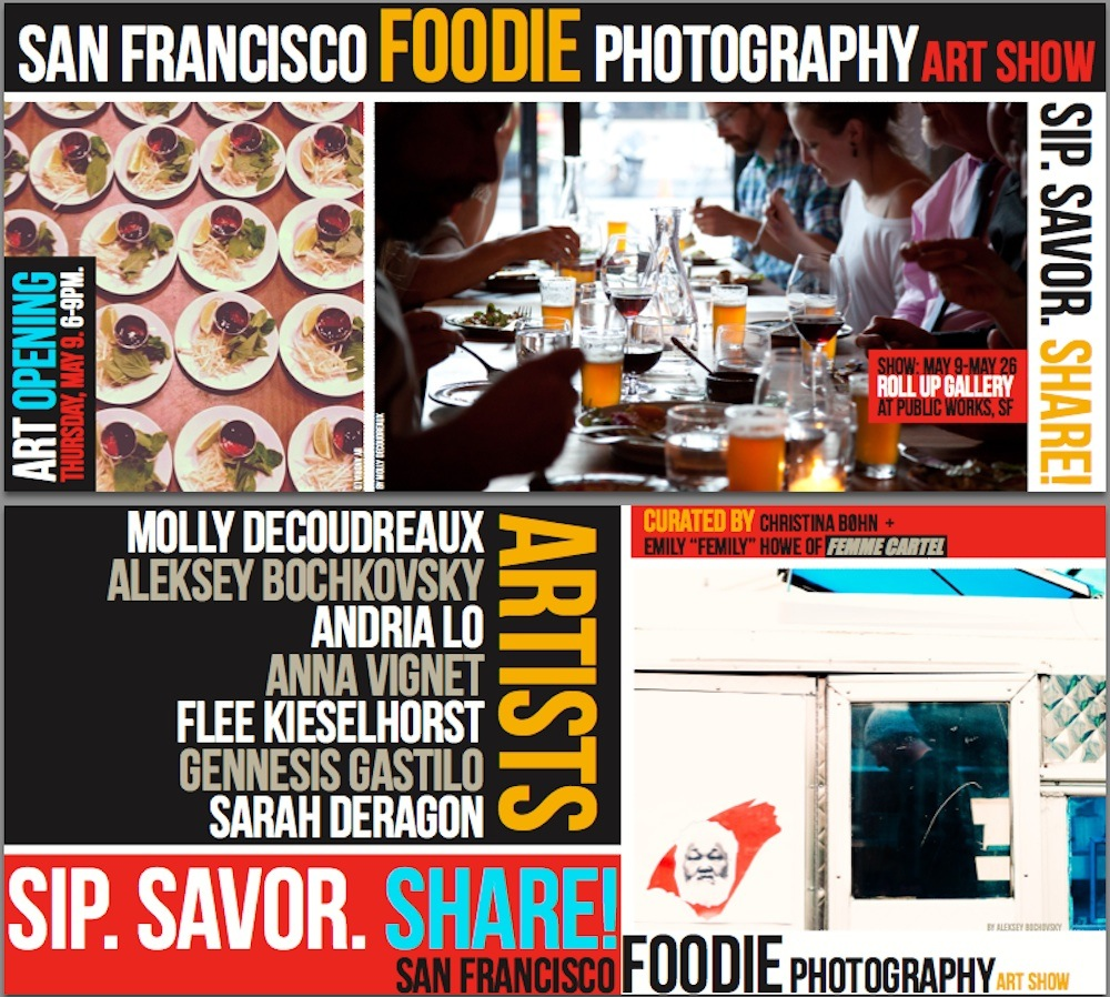 Femme Cartel food photo show