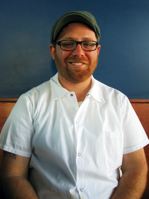 Ian Marks is chef/owner of The Beast and The Hare in San Francisco's Mission District. Photo: Rachael Myrow