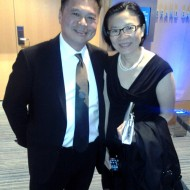 IACP award winner Chef Charles Phan with his wife Angkana Kurutach. Photo: Mary Ladd